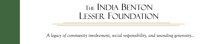 The India Benton Lesser Foundation